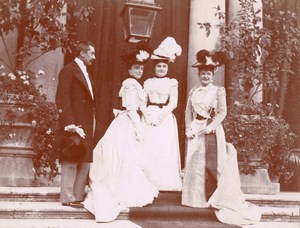 Bonaparte Ney Wedding Roma Snapshot Primoli Photo 1898