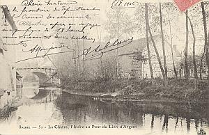 Landing Air Ship 1906 La Chatre Leblanc Team signed PC