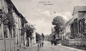 Konig Germany Balloon Flight Limousin Aeronaut signed Postcard 1907