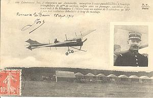 Formeries Early French Aviation Jost signed PC 1910