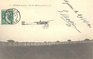 Hyeres Early French Aviation Mollien signed PC 19