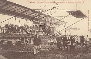 Vendeuil Early French Aviation Menard signed PC 1911