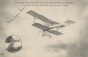 Picardie Early French Aviation Breguet signed PC 1912