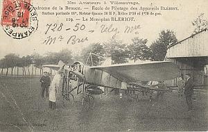 Etampes Early French Aviation Nicolleau signed PC 1910