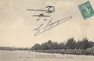 Issy Moulineaux Early Aviation Legagneux Signed PC 1910