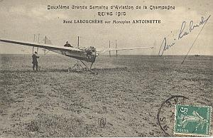 Reims Early French Aviation Labouchere Signed PC 1910