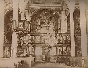 St Serg Coptic Church Cairo Egypt Bonfils 2 Photos 1880