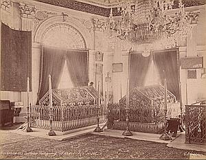 Sultan Tombs Istanbul Turkey Berggren Photo 1880