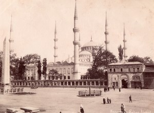Ahmed Sultan Mosque Istanbul Turkey Abdullah Photo 1880