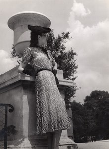 Anny Blatt Fashion Model Paris old Vigneau Photo 1935