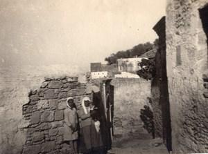 Essaouira Kasbah Wall Morocco old Photo 1920