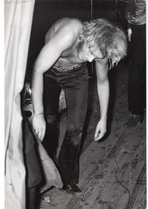 French Rock/Roll Idol Singer Johnny Hallyday Photo 1960