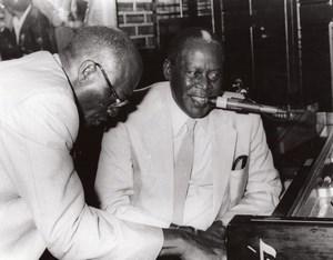 USA Memphis Pianist Memphis Slim Concert old Photo 1985
