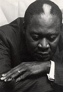 Pianist Memphis Slim old Photo Marouani 1980