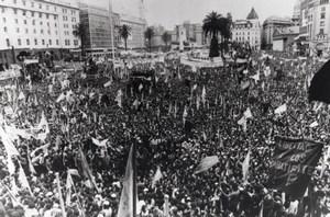 Argentina H Campora Election Buenos Aires Photo 1973