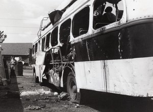 Kenya Nairobi Bus Explosion Attack old Photo 1975