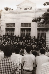 Madagascar Majunga Political Trouble old Photo 1974