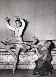 Los Angeles Ballet Mary Gelder Paris Theater Photo 1954