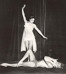 Poland Ballet Krystina Sarvika Paris Theater Photo 1958