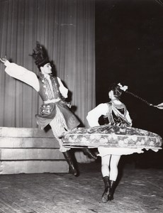 Folkloric Poland Ballet Slask Paris Theater Photo 1960