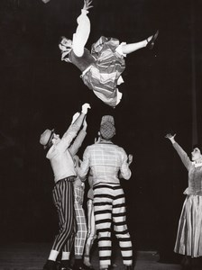 Folklor Poland Ballet Parnella Paris Theater Photo 1958