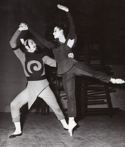 Bela Bartok Ballet Sima Laketic Theater old Photo 1957
