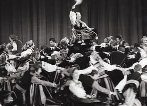 Mazowske Poland Ballet Theater Paris Theater Photo 1972