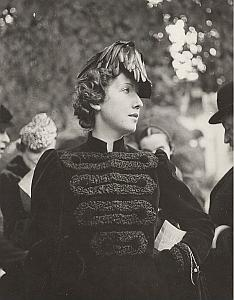 Comtesse de Sedouy Paris Fashion Seeberger Photo 1930