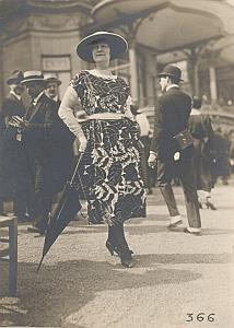 La Mode aux Courses Fashion France Seeberger Photo 1910