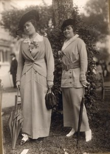 La Mode aux Courses Fashion France Seeberger Photo 1920