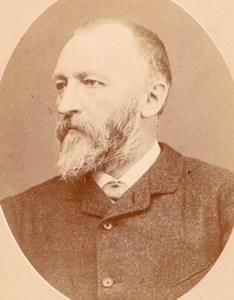 Chemist A Scheurer Kestner Colmar Old Meyer Photo 1885