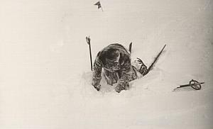 New Ski Resort Sestriere Winter Sport Snow Photo 1934