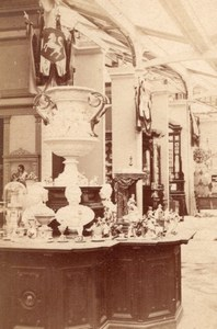 Prussian Porcelaine World Fair Paris Old CDV Photo 1867