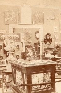 Furniture Italian Section World Fair Paris Photo 1867