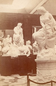 Fine Art Italian Section World Fair Paris Photo 1867