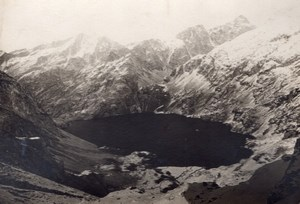 Maurice Heid Pyrenees Mountaineering Old Photo 1897