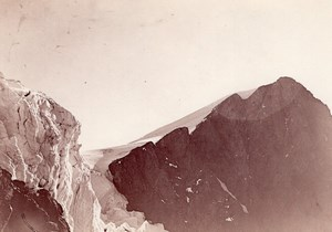 Mount Pelvoux Glacier Alpes Alps Mountain Photo 1900