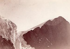 Mount Pelvoux Glacier Alpes Alps Mountain Photo 1900