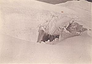 Glacier Pelvoux Alpes Alps Mountain Old Photo 1900