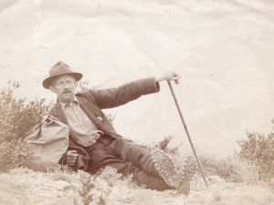 Alpiniste Mauduit Pyrenees Montagne Old Photo 1900