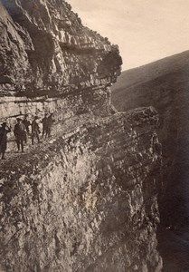 Mountaineering Pyrenees Montagne Old Photo 1900