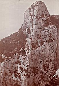 Corniche Grande Candelle Marseille Nature Photo 1900
