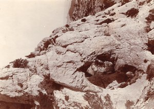 Rock Arch Pyrenees Panorama Mountain Old Photo 1900