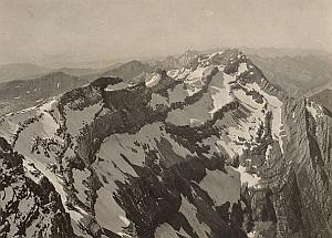 Peak Panorama Mountain Montagne Pyrenees Photo 1900