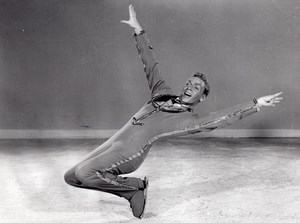 Bobby Blake Ice Skating Holiday on Ice Old Photo 1957