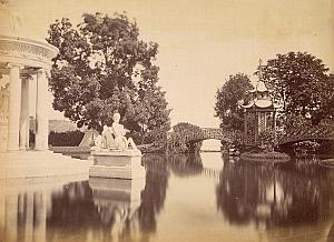 Villa Pallavicini Lake Roma Italy Anderson Photo 1880