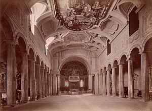 S Pietro in Vincoli Church Roma Old Anderson Photo 1880