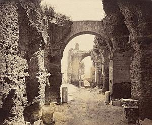 Palatino Septimo Severo Ruins Roma Italy Old Photo 1880