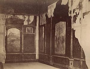 Palatino Casa di Tiberio Roma Italy Anderson Photo 1880