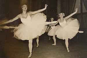 Opera Paris Classical Dance Women Old Photo 1935